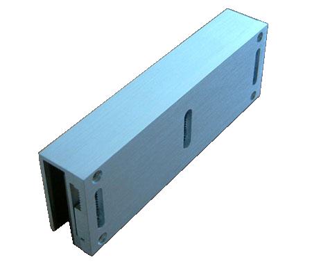 磁力锁玻璃u型支架